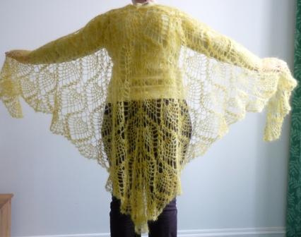 Knit Mohair Pattern Shawl - 1000 Free Patterns